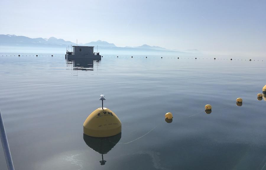 Vertical Mixing and Basin-scale Energetics in Lake Geneva, Switzerland