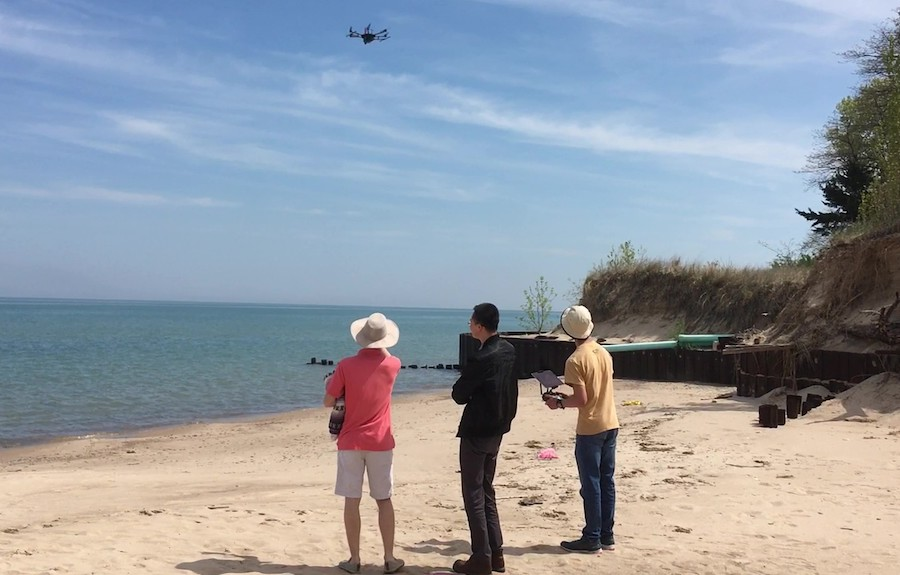 Shoreline Surveys to Support Resilient Beaches