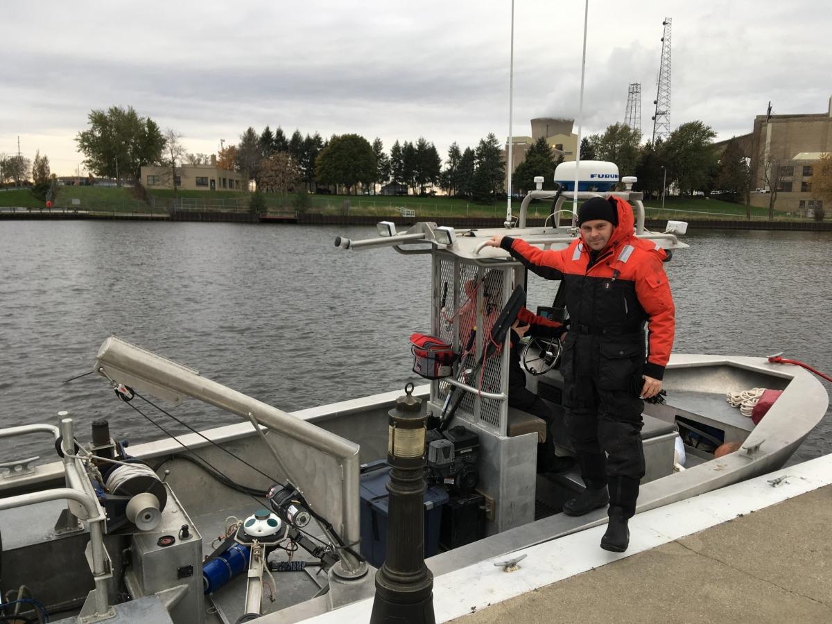 Buoy deployment - Michigan City