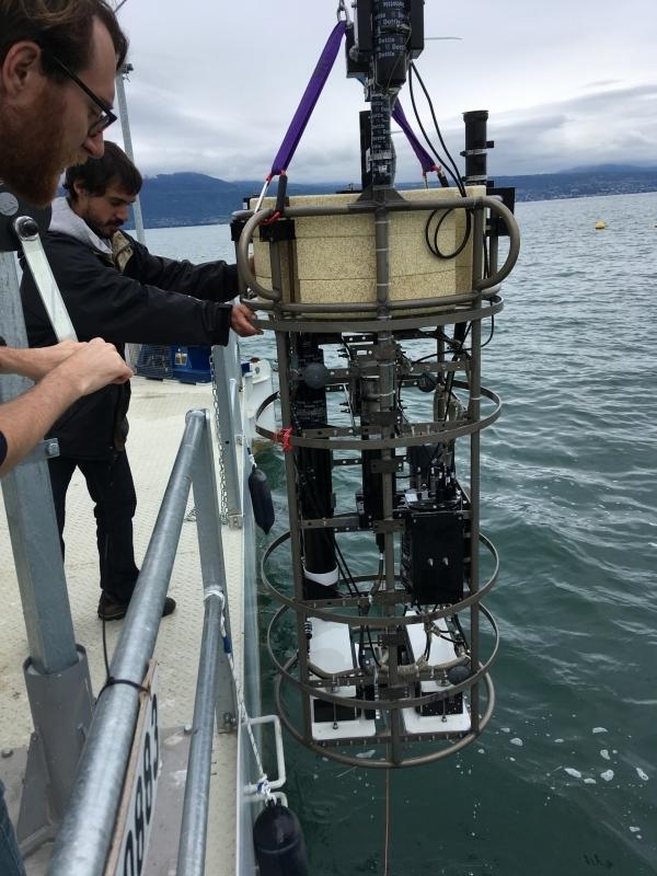 Thetis Profiler in Lake Geneva